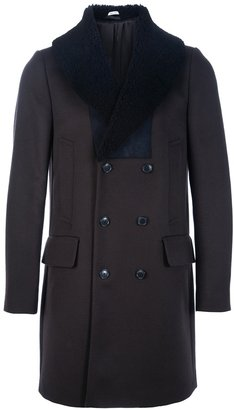 Paul Smith shawl collar peacoat