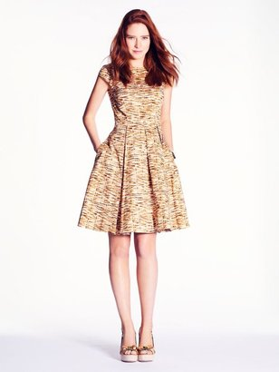 Kate Spade Natural tromp l'oeil mariella dress