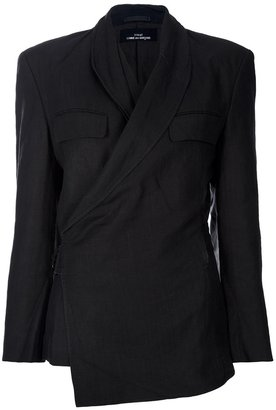 Comme des Garcons Vintage asymmetric fastening blazer