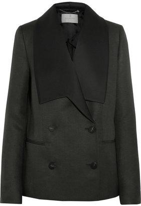 Mulberry Gracie wool and silk-blend blazer