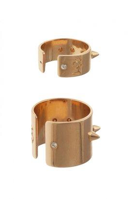 Maria Francesca Pepe Spike Ring Set