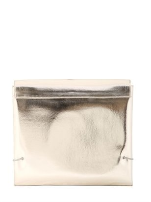 Lust Laminated Leather Clutch