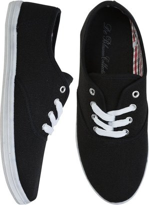 Canvas Lace Up Skimmer