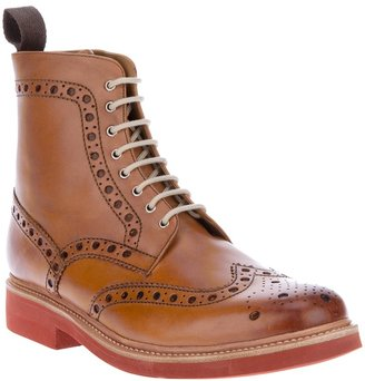 Grenson 'Fred' brogue boot