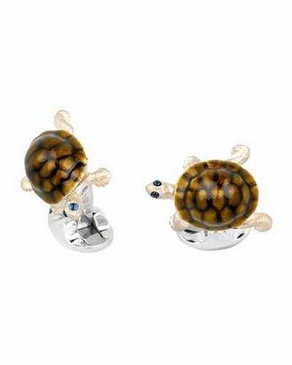 Deakin & Francis Walking Tortoise Cuff Links
