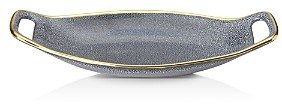 Michael Wainwright Panthera Blue and Gold Handled Tray - 100% Exclusive