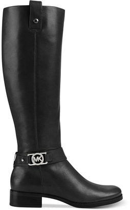 MICHAEL Michael Kors Charm Wide Calf Riding Boots