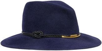 Eugenia Kim Bianca Felt Porkpie Hat, Navy