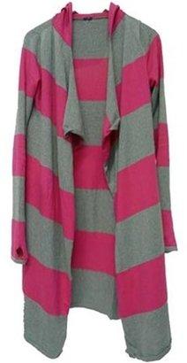 Brandy & Melville Stripe Hoodie Sweater -