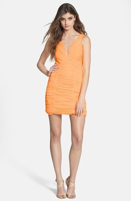 Adrianna Papell Ruched Body-Con Dress