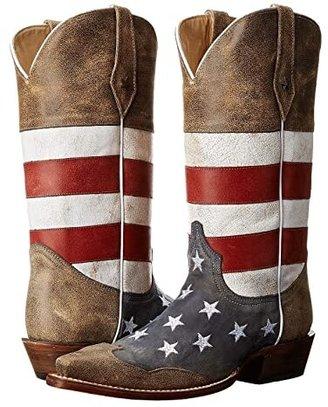 Roper American Flag Snip Toe
