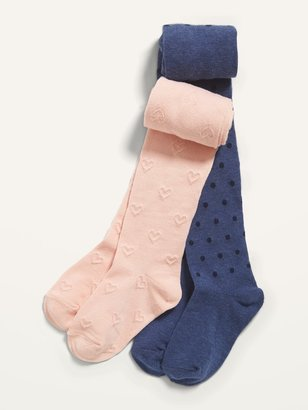 Old Navy 2-Pack Soft-Knit Tights for Toddler Girls & Baby