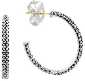 Women's Lagos Caviar Hoop Earrings (Online Only) $195 thestylecure.com