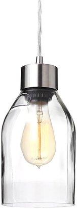 Inhabit Naked in Clear Reclaimed Bottle Pendant Light