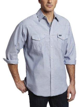 Wrangler Men's Big & Tall Authentic Cowboy Cut Work Western Shirt