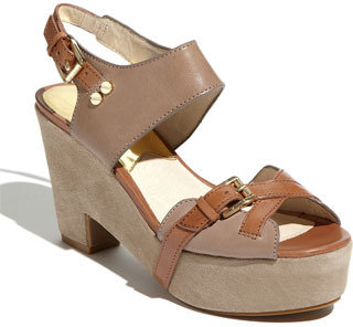 MICHAEL Michael Kors 'Fallyn' Sandal Cement 10 M
