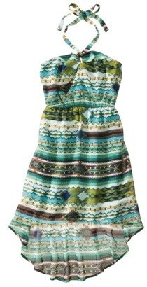 Xhilaration Juniors Halter High Low Dress - Assorted Colors