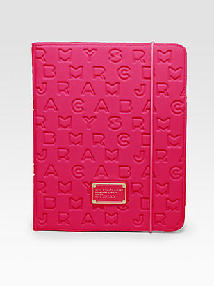 Marc by Marc Jacobs Dreamy Logo Stamped Cover for iPad 1, 2 & 3