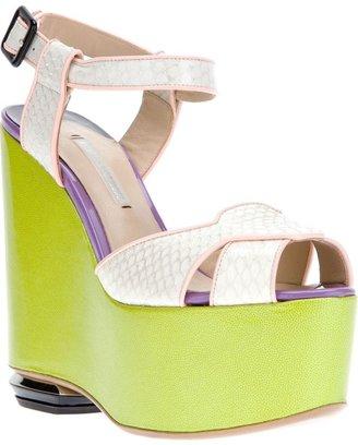 Nicholas Kirkwood platform sandal