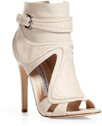 Camilla Skovgaard Ivory ankle cuff sandals