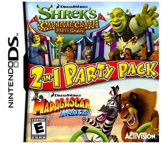 Nintendo DreamWorks 2-in-1 Party Pack for DS