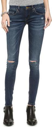 Blank Denim Skinny Jeans $88 thestylecure.com