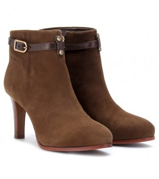 Tory Burch PATRICIA SUEDE ANKLE BOOTS