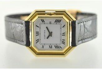 Cartier pristine (PR 18k Yellow Gold Gold Automatic Movement Ladies Watch