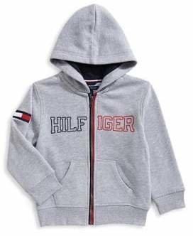 Tommy Hilfiger Little Boy's Full-Zip Fleece Hoodie