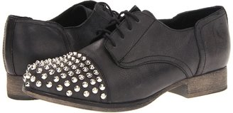 Steve Madden Texass (Black Leather) - Footwear