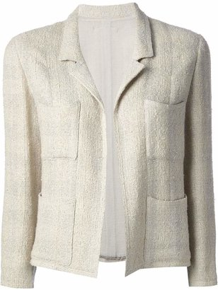 Chanel Pre-Owned jacket and skirt tweed suit