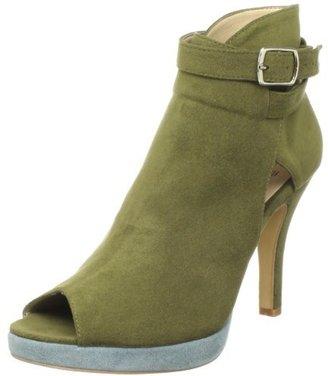 Olsenhaus Women's Song Peep Toe Ankle Boot