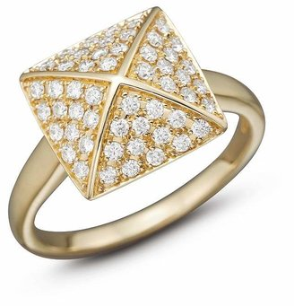 Bloomingdale's Diamond Pavé Pyramid Ring in 14K Yellow Gold, 0.45 ct. t.w. - 100% Exclusive