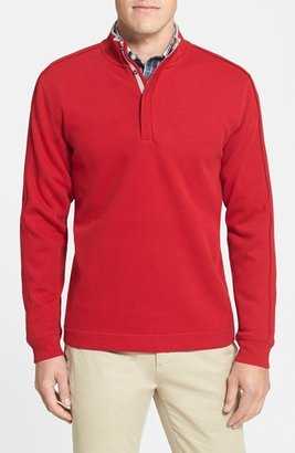 Men's Big & Tall Cutter & Buck 'Fulltime' Pima Cotton Pullover $98 thestylecure.com