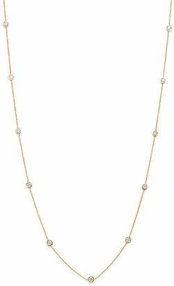 Bloomingdale's Diamond Station Necklace in 14K Yellow Gold, 1.0 ct. t.w. - 100% Exclusive