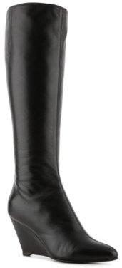 Giuseppe Zanotti Leather Zipper Wedge Boot
