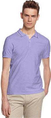 Calvin Klein Polos, Short Sleeve Pique Polo