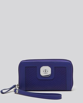 Longchamp Wallet - Gatsby Continental with Wristlet Strap
