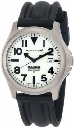 Momentum Men's 1M-SP00W1 Atlas Dial Black SLK Rubber Watch