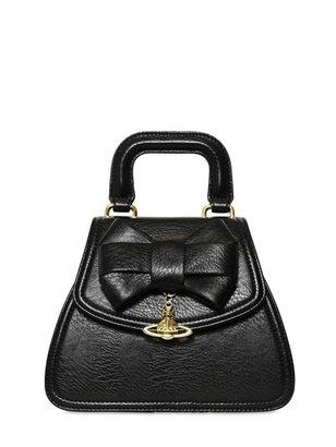 Vivienne Westwood Bow Faux Leather Shoulder Bag