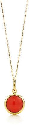Tiffany & Co. Paloma Picasso®:carnelian dot charm and chain
