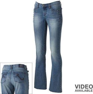 Rock & Republic kasandra embellished bootcut jeans - women's