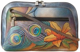 Anuschka 349 Multi-Compartment Zip Bag
