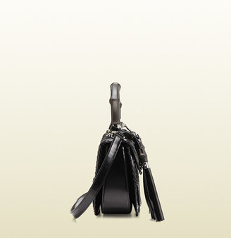 Gucci New Bamboo Calf Hair Top Handle Bag