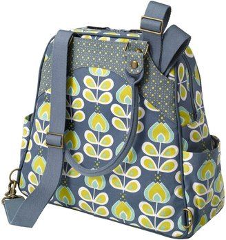 Petunia Pickle Bottom Sashay Satchel in Twilight Tiger Lily