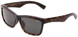 Zeal Optics Kennedy (Torched Tortoise w/Dark Grey Polarized Lens) Sport Sunglasses