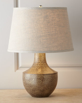 Jamie Young Kettle Hammered Metal Lamp