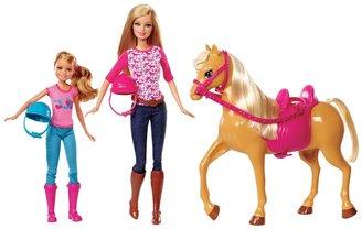 Barbie Pink-Tastic Horse & Dolls