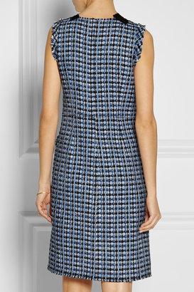 Marc Jacobs Wool-blend tweed dress