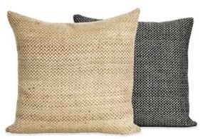 Design Within Reach Silk Sawtooth Pillow